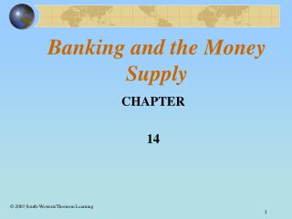 Banking and the Money Supply