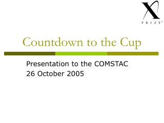 Countdown to the Cup