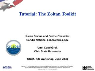 Tutorial: The Zoltan Toolkit