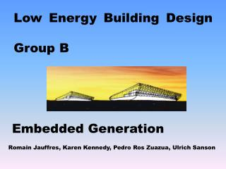 Low Energy Building Design Group B