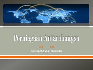 Perniagaan Antarabangsa