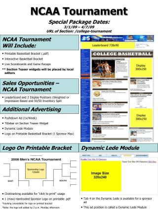 Printable Basketball Bracket (.pdf) Interactive Basketball Bracket