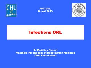 Infections ORL