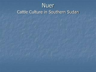 Nuer