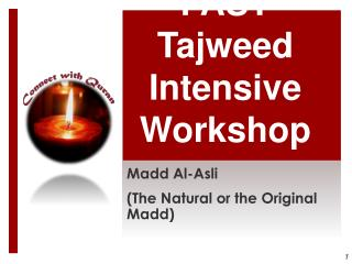 FAST  Tajweed  Intensive Workshop