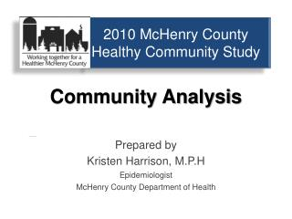 2010 McHenry County Healthy Community Study