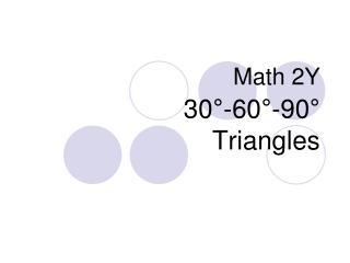Math 2Y