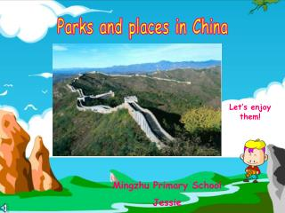 Parks and places in China