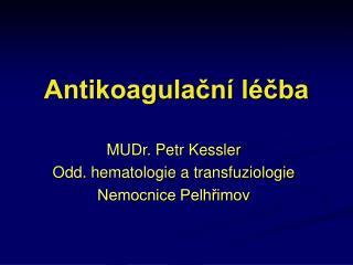 Antikoagulační léčba