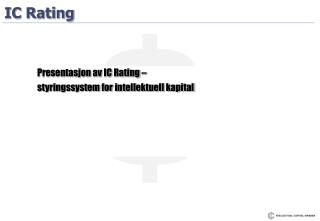 IC Rating