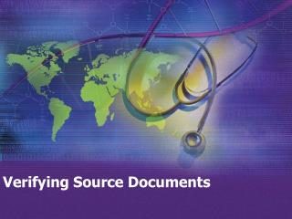 Verifying Source Documents