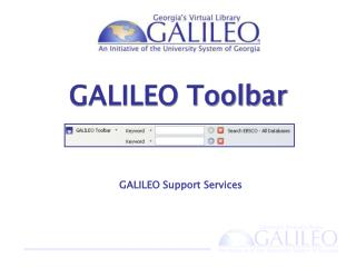 GALILEO Support  Services