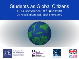 Students as Global Citizens project
