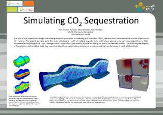 Simulating CO 2  Sequestration