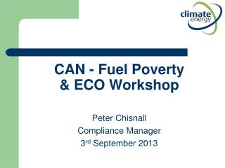 CAN - Fuel Poverty & ECO Workshop