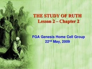 THE STUDY OF RUTH     Lesson 2 – Chapter 2