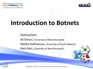 Introduction to Botnets