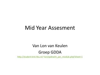 Mid Year Assesment