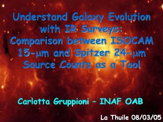 Understand Galaxy Evolution with IR Surveys: