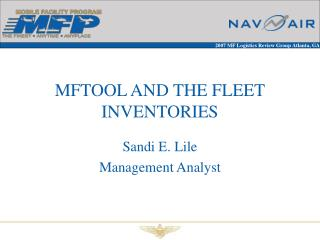 MFTOOL AND THE FLEET INVENTORIES