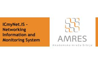 ICmyNet.IS - Networking Information and Monitoring System