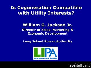 Is Cogeneration Compatible with Utility Interests?