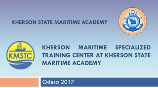 Kherson maritime specialized training center at Kherson state Maritime academy
