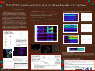 CASCADES-II sounding rocket study of auroral poleward boundary intensifications