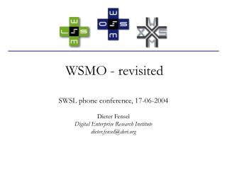 WSMO - revisited
