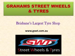 Largest Wheels & Tyres Shop in Brisbane