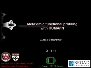 Meta'omic  functional  profiling with  HUMAnN