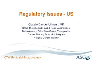 Regulatory Issues - US