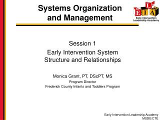 Systems Organization  and Management
