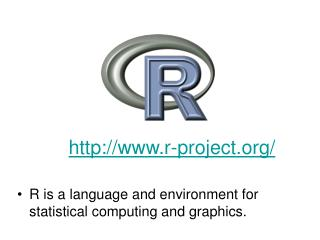 R is a language and environment for statistical computing and graphics.