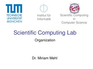 Scientific Computing Lab