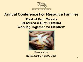 Annual Conference For Resource Families