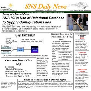 SNS Daily News