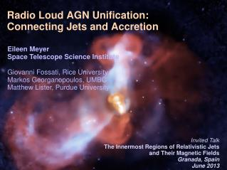 Radio  L oud AGN Unification:  Connecting Jets and Accretion