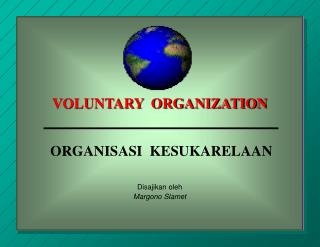 VOLUNTARY ORGANIZATION