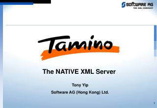 The NATIVE XML Server