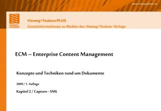 ECM – Enterprise Content Management