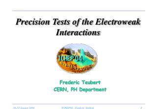 Precision Tests of the Electroweak Interactions