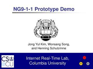 NG9-1-1 Prototype Demo