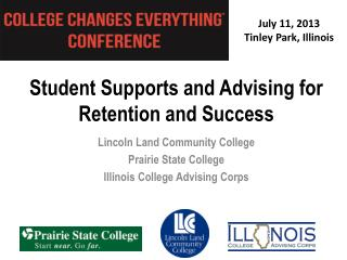 Student Supports and Advising for Retention and Success