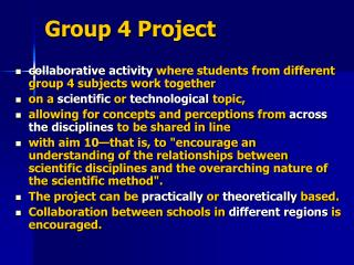 G roup 4  P roject