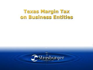 Texas Margin Tax on Business Entities
