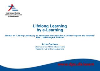 New role for universities  in lifelong learning