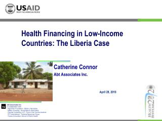 Health Financing in Low-Income Countries: The Liberia Case