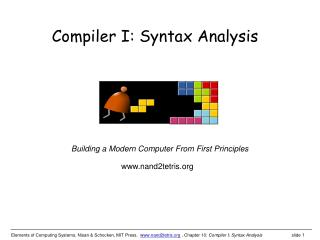 Compiler I: Syntax Analysis