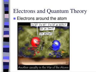 Electrons and Quantum Theory